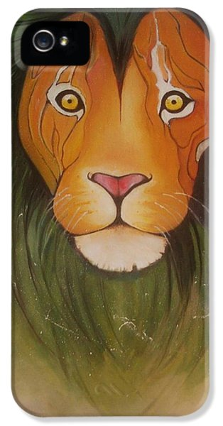 Lovelylion IPhone 5 Case by Anne Sue