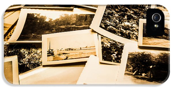 Lowdown On A Vintage Photo Collections IPhone 5 Case