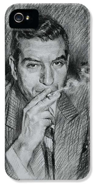 Lucky Luciano IPhone 5 Case by Ylli Haruni