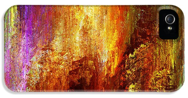 Luminous - Abstract Art IPhone 5 Case by Jaison Cianelli