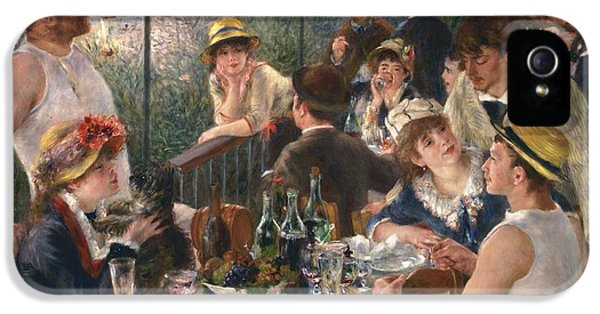 Luncheon Of The Boating Party By Renoir IPhone 5 Case