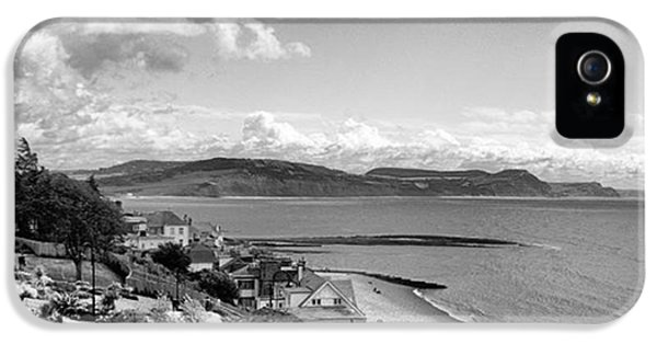 Sky iPhone 5 Case - Lyme Regis And Lyme Bay, Dorset by John Edwards