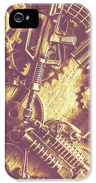 Machine Guns IPhone 5 Case by Jorgo Photography - Wall Art Gallery