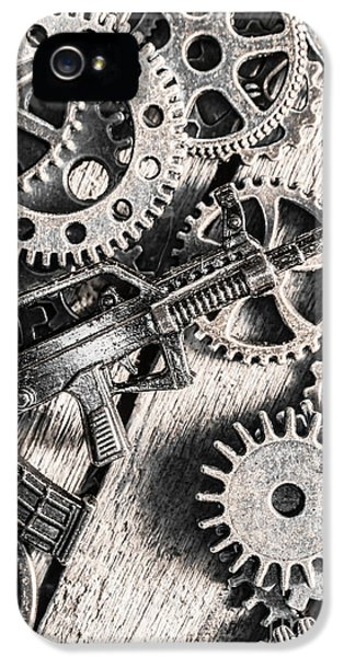 Machines Of Military Precision  IPhone 5 / 5s Case by Jorgo Photography - Wall Art Gallery