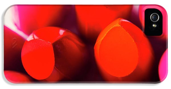 IPhone 5 Case featuring the photograph Macro Cosmetic Art by Jorgo Photography - Wall Art Gallery