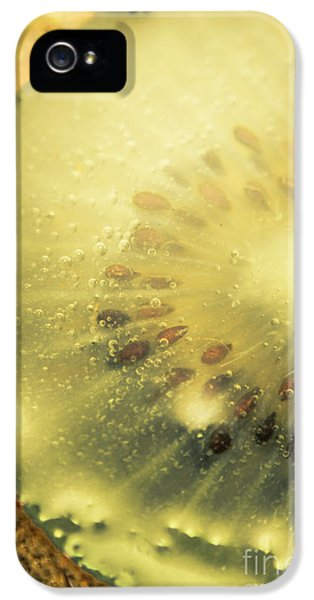Macro Shot Of Submerged Kiwi Fruit IPhone 5 Case