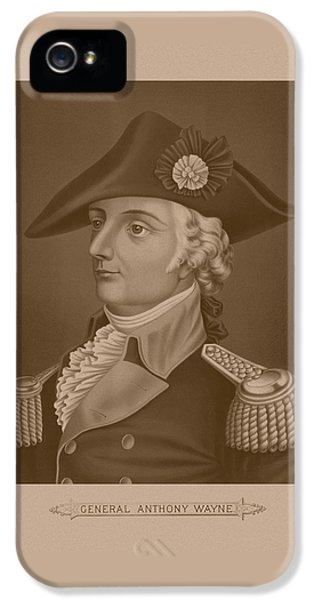 Mad Anthony Wayne IPhone 5 Case by War Is Hell Store