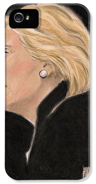 Madame President IPhone 5 Case by P J Lewis