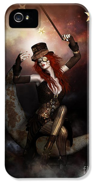Maestro Steampunk IPhone 5 Case by Shanina Conway