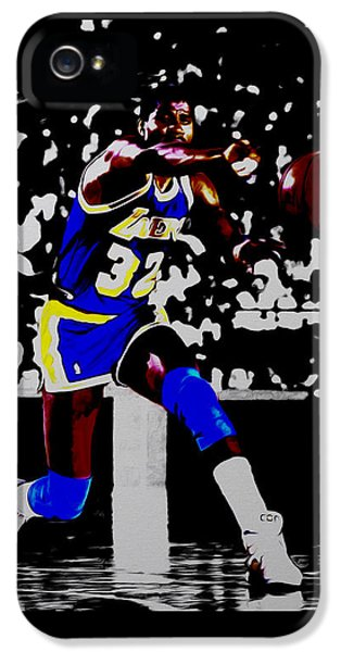 Magic Johnson Bounce Pass IPhone 5 Case