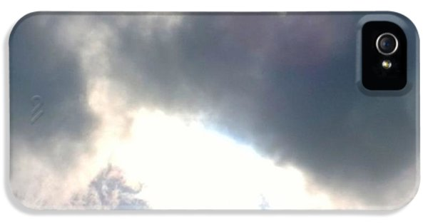 Sky iPhone 5 Case - Magical #clouds Today :-) #sky #weather by Shari Warren