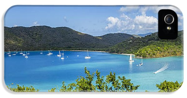 IPhone 5 Case featuring the photograph Maho And Francis Bays On St. John, Usvi by Adam Romanowicz