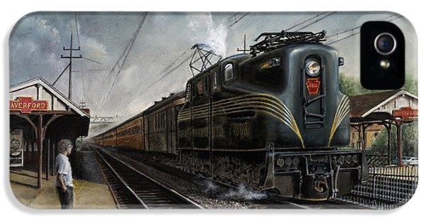Train iPhone 5 Case - Mainline Memories by David Mittner