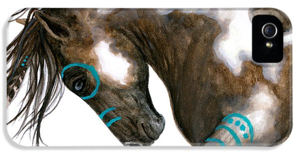 Majestic Horse #151 IPhone 5 Case by AmyLyn Bihrle