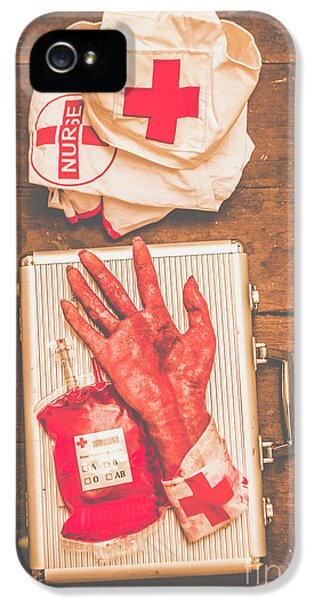 Make Your Own Frankenstein Medical Kit  IPhone 5 Case by Jorgo Photography - Wall Art Gallery