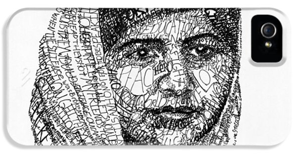 Malala Yousafzai IPhone 5 Case by Michael Volpicelli
