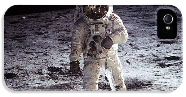 Man On The Moon 11 IPhone 5 Case by Jon Neidert