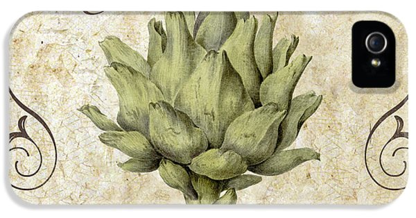 Mangia Carciofo Artichoke IPhone 5 Case by Mindy Sommers