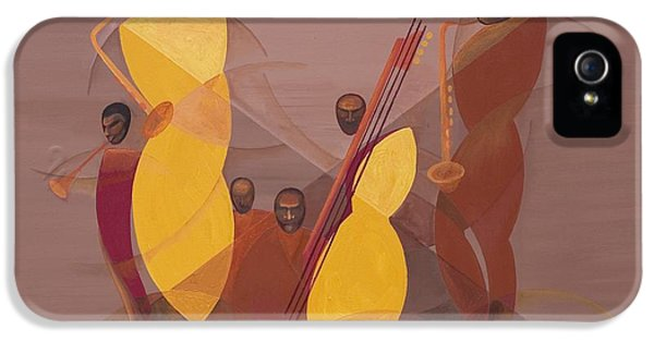 Mango Jazz IPhone 5 Case by Kaaria Mucherera
