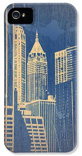 Manhattan 1 IPhone 5 / 5s Case by Naxart Studio
