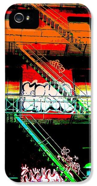 Manhattan Fire Escape IPhone 5 Case by Funkpix Photo Hunter