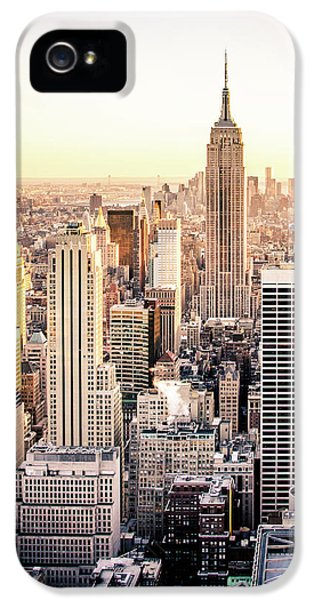 Empire State Building iPhone 5 Case - Manhattan by Michael Weber
