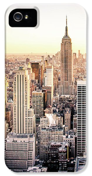 Manhattan IPhone 5 Case by Michael Weber