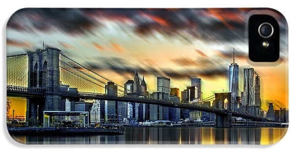 Manhattan Passion IPhone 5 Case by Az Jackson