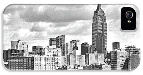Manhattan Skyline No. 7-2 IPhone 5 Case by Sandy Taylor