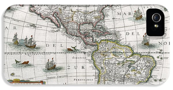Map Of The Americas IPhone 5 Case