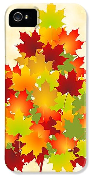 Maple Leaves IPhone 5 Case