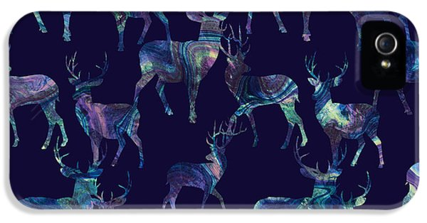 Marble Deer IPhone 5 / 5s Case by Varpu Kronholm