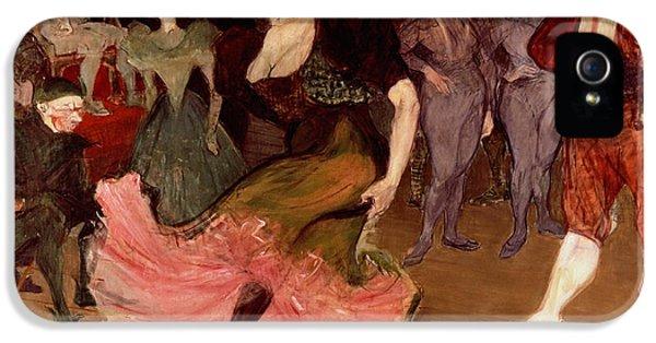 Marcelle Lender Dancing The Bolero In Chilperic IPhone 5 Case by Henri de Toulouse Lautrec