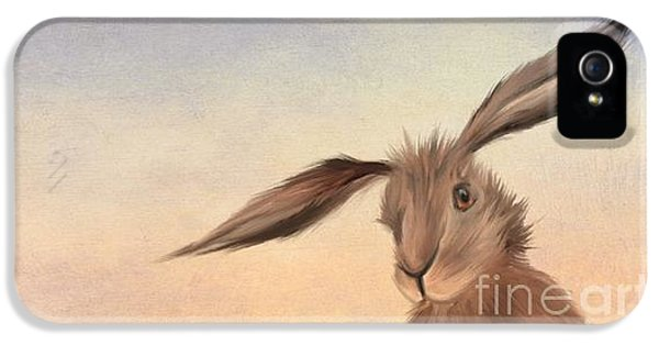 March Hare IPhone 5 Case by John Edwards