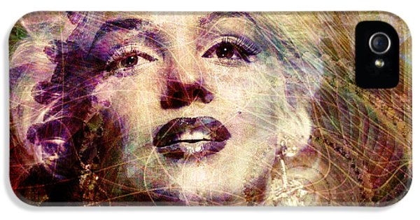 Marilyn IPhone 5 / 5s Case by Barbara Berney
