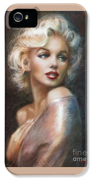 Marilyn Ww Soft IPhone 5 / 5s Case by Theo Danella