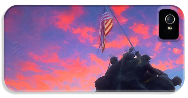 Marines At Dawn IPhone 5 Case by JC Findley