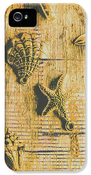 Pendant iPhone 5 Case - Maritime Sea Scroll by Jorgo Photography - Wall Art Gallery