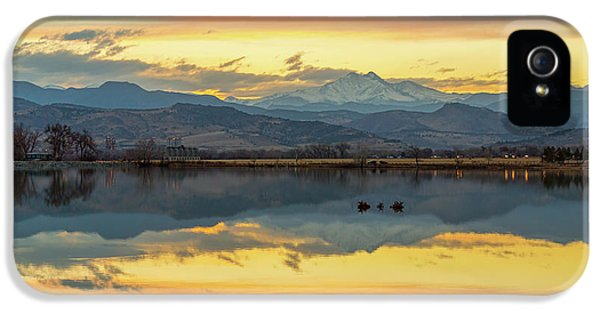 IPhone 5 Case featuring the photograph Marvelous Mccall Lake Reflections by James BO Insogna