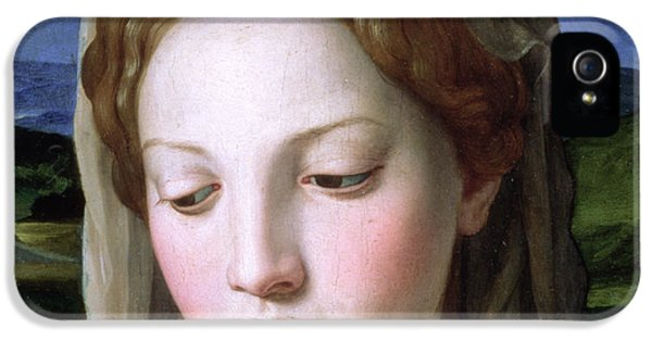 Mary IPhone 5 Case by Agnolo Bronzino
