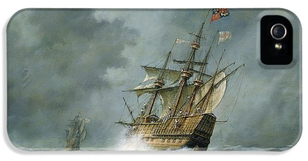 Weather iPhone 5 Case - Mary Rose  by Richard Willis