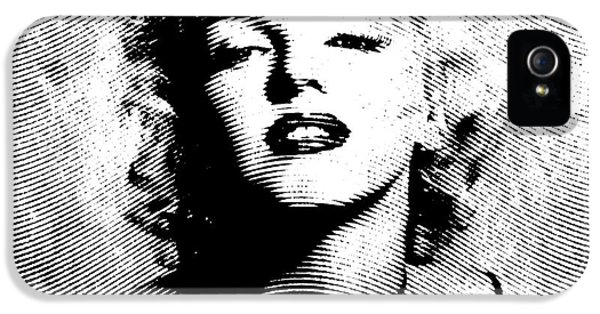 Marilyn Monroe - 04a IPhone 5 Case by Variance Collections