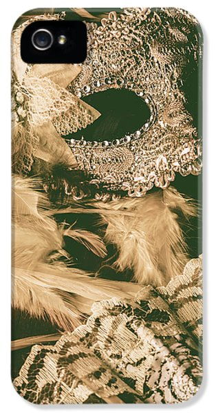 Masking A Playwright IPhone 5 Case by Jorgo Photography - Wall Art Gallery