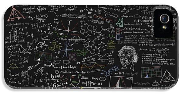 Maths Formula IPhone 5 Case by Setsiri Silapasuwanchai