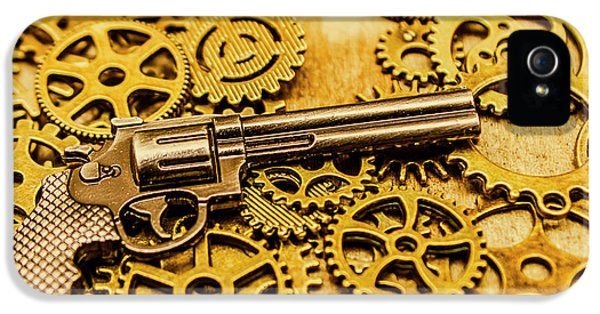 Mechanisms Of The Wild West  IPhone 5 Case