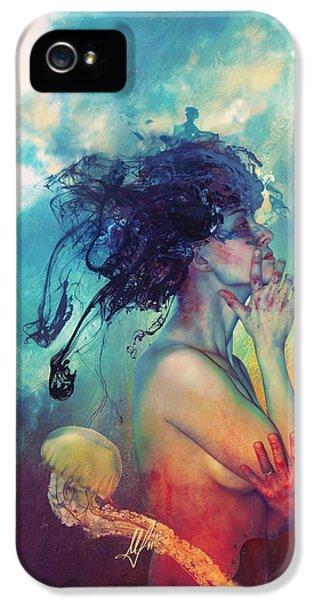 Magician iPhone 5 Case - Medea by Mario Sanchez Nevado
