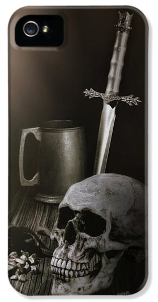Knight iPhone 5 Case - Medieval Still Life by Tom Mc Nemar