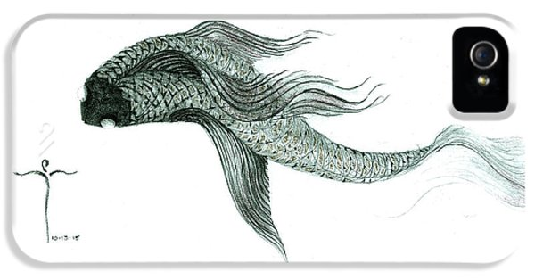 Megic Fish 1 IPhone 5 Case by James Lanigan Thompson MFA