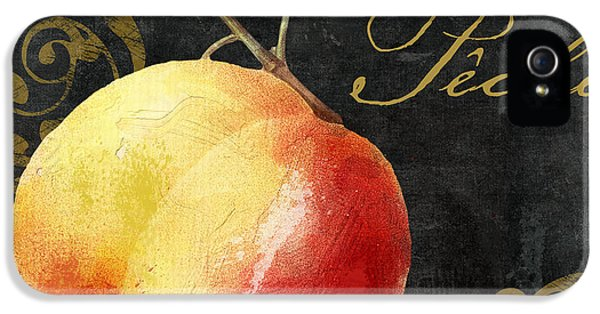 Melange Peach Peche IPhone 5 Case by Mindy Sommers