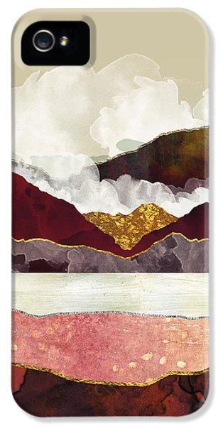 Landscapes iPhone 5 Case - Melon Mountains by Katherine Smit